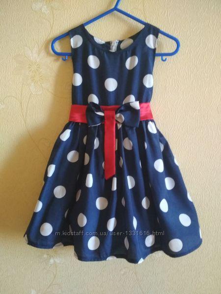 Нарядное летнее платье, 2-3 года