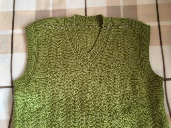 Жилет вязаный крючком под заказ Handmade Knitting Armknitting Handknit
