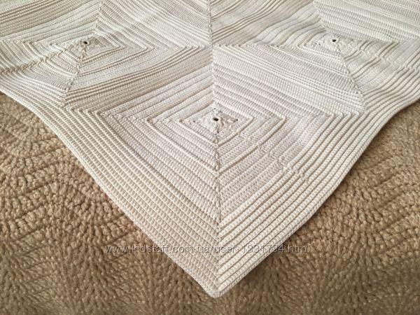 Плед, вязаный крючком, под заказ Handmade Knitting Armknitting Handknit