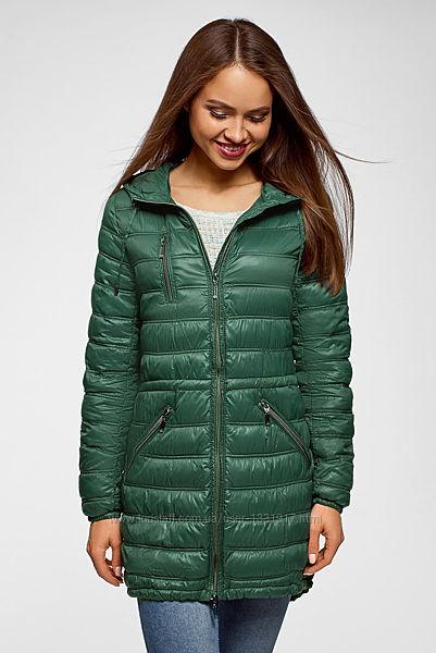 Женская двухсторонняя стеганная куртка на меху/Blise Италия/p. M-38