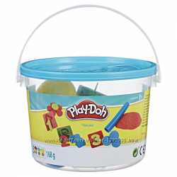 Плей-До ведерко пластилина 4 вида  Play-Doh 23414
