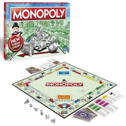 Hasbro Gaming MONOPOLY Настольная игра Классическая Монополия C1009