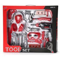 KY1068-015  Игрушечные инструменты - набор инструментов, 28 шт