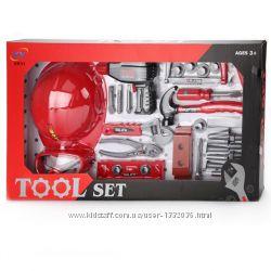 KY1068-035  Игрушечные инструменты - набор инструментов, 34 шт