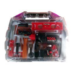 KY1068-122 Игрушечные инструменты - подарочный набор, 19 шт
