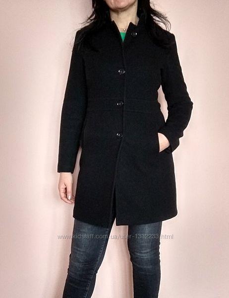 Черное пальто, тренч United Colors Of Benetton, Италия