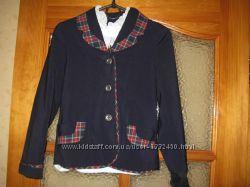 Пиджак, школьная форма 128-134 см