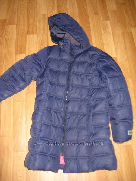 Пальто зимнее на девочку  рост 140 см MARKS & SPENSER