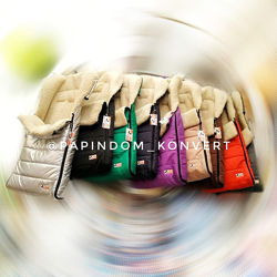 Конверт на овчине в коляску  санки цвета рукавицы чехол mini maxi
