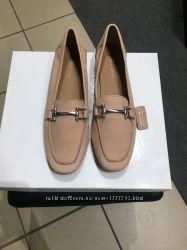 Брендовые шикарные туфли . Натуральная кожа . Комфортные. Оригинал. Цвет пудра.