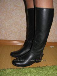 Ibana Rouge сапоги кожа 37 р по ст 24. 5 см гол 36 см щик 30 см висота 39. 5