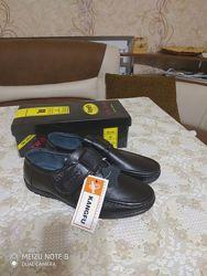 Туфли-мокасины на мальчика, кожа. ТМ KangFu. Размеры 32,33,34,35,36