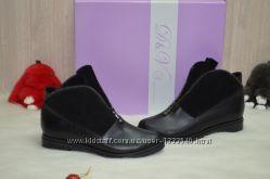 Женские ботинки идут на любой подъем натурал кожа