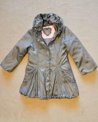 Романтичное пальто для девочки 6-7 лет