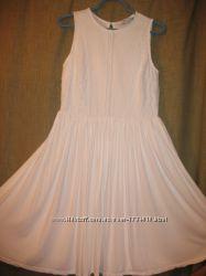 Красивое праздничное белое платье Next