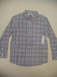Новая стильная рубашка Old Navy на 6-7-8 лет оригинал с биркой