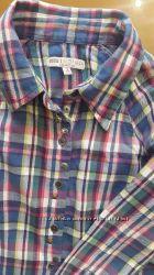 Рубашка для девочки на 116 см