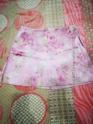 Яркая юбка мини