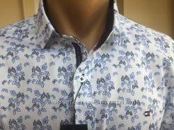 Tommy Hilfiger мужские рубашки- 2021. Новые. Размеры S-4XL