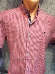 Tommy Hilfiger. Стильные мужские рубашки  коллекция2019 Новые