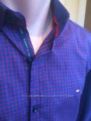 Tommy Hilfiger 2018 стильные креативные мужские руба