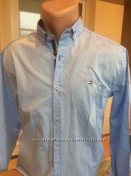 Tomy Hilfiger 2019 стильные креативные мужские рубашки, Новые