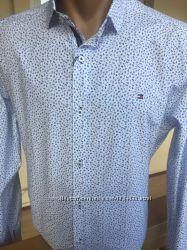 Tommy Hilfiger. Стильные мужские рубашки , коллекция 2019 Новые