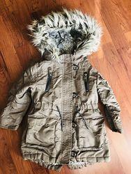 Парка, куртка зимняя Next, 98 см