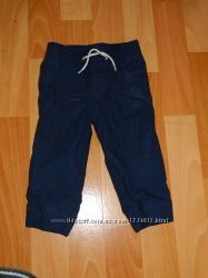 брюки с трикотажной подкладой GAP, 18-14 мес