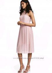 Неимоверно красивое платье плиссе с фатином H&M