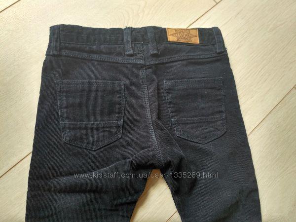 Вильветовые джинсы на мальчика 12-18 мес
