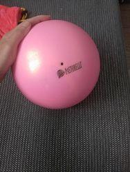 Мяч с глиттером Pastorelli 18см, 415гр