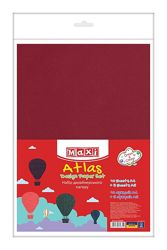 Бумага цветная, дизайнерский, 10 листов А4, 5 листов А5, односторонний, MAXI