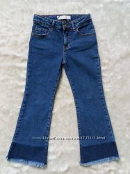 Моднявые джинсы ZARA  для вашей стиляжки 4-6 лет.