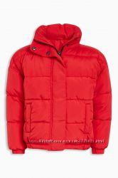 Тёплая и красивая куртка NEXT, 15 лет. Бесплатная доставка.
