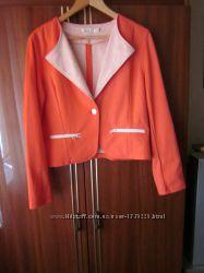 Красивый яркий пиджак Laura jo, новый, размер XXL
