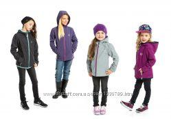 Демисезонная куртка-ветровка для девочек и подростков SOFTSHELL