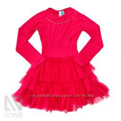Нарядное платье на девочку NANO Канада, размеры от 2 до 7 лет.