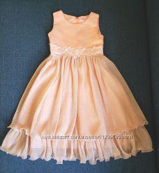 Нарядное платье на выпуск для девочки 6-7 лет рост 116-122 см