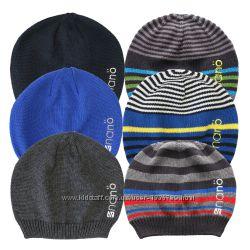 Демисезонная вязанная шапка для мальчика коттон НАНО Канада