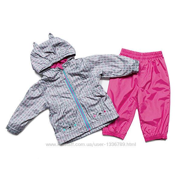 Демисезонный комплект куртка на флисе и непромокаемые штаны P&T Канада