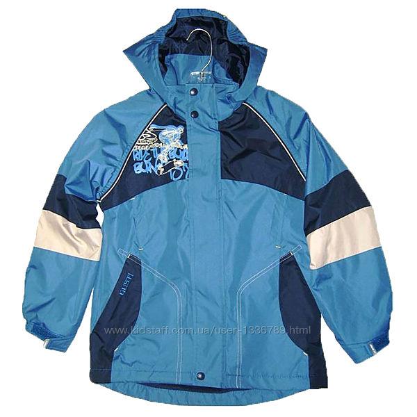 Демисезоная куртка на флисе для мальчика GUSTI Канада
