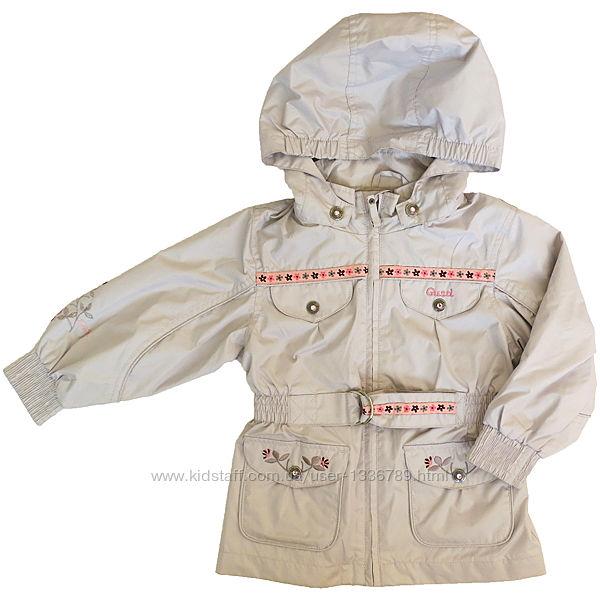 Куртка ветровка для девочки GUSTI Канада