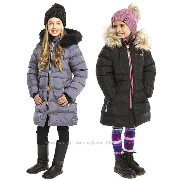 Зимнее теплое пальто для девочки 4-14 лет NANO, Канада