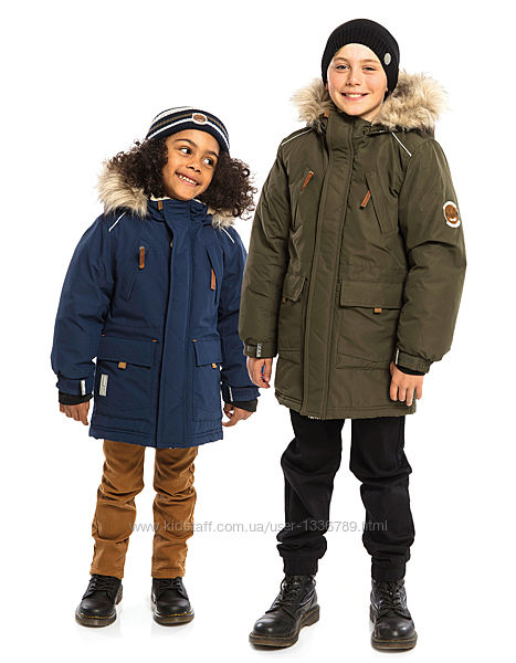 Зимняя куртка-парка для мальчика NANO Канада от 2 до 14 лет