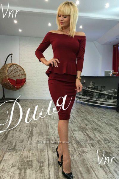Платье Баска  0158
