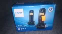 2 радиотелефона Philips D125