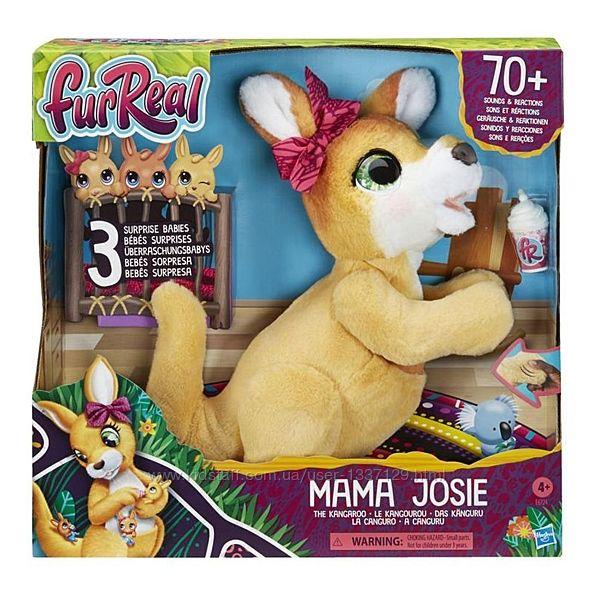 Интерактивная игрушка Кенгуру мама Джози и ее кенгурята Hasbro E6724