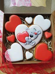 Валентине, пряники сердечки