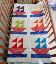 Детское одеяло Кораблик